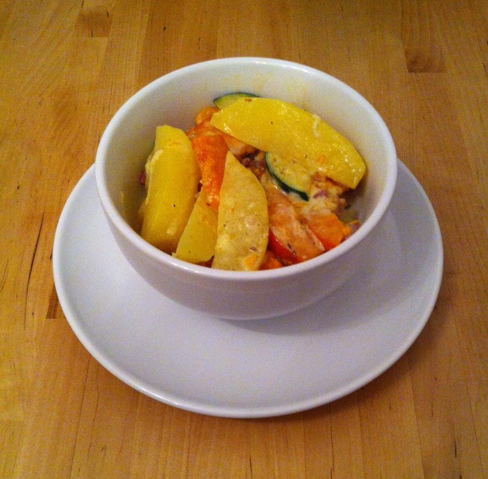 Kürbis-Kartoffel-Zucchini-Auflauf