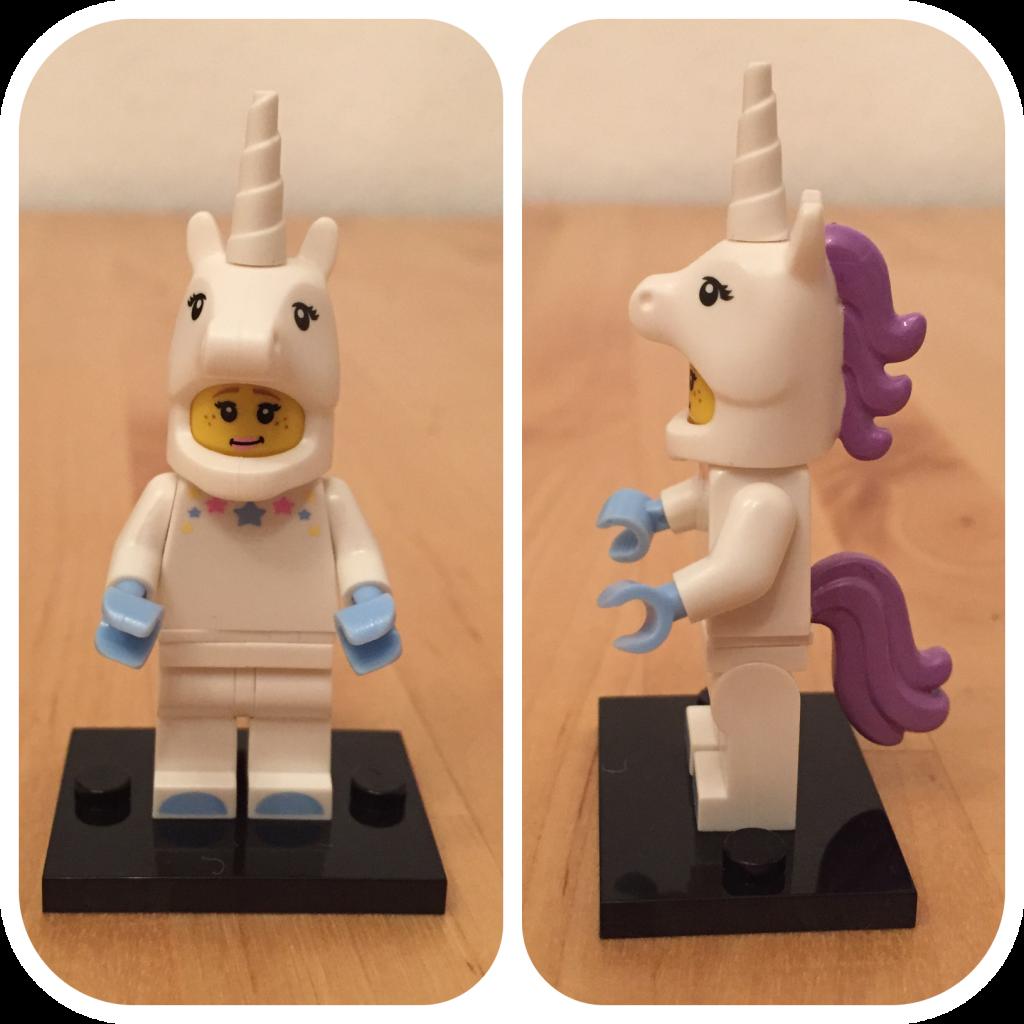Einhorn-Mädchen von LEGO aus der Sammel-Serie 13.