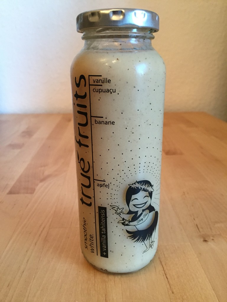 white Smoothie von true fruits