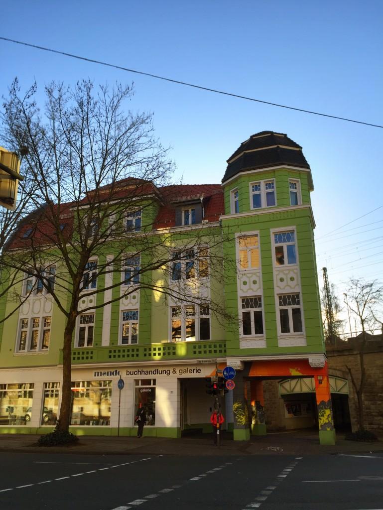 Buntes Haus in der Elsa-Brändström-Straße 23 in Bielefeld