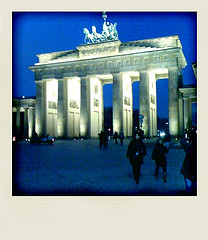 Brandenburger Tor am Abend